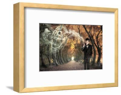Alone--Framed Art Print