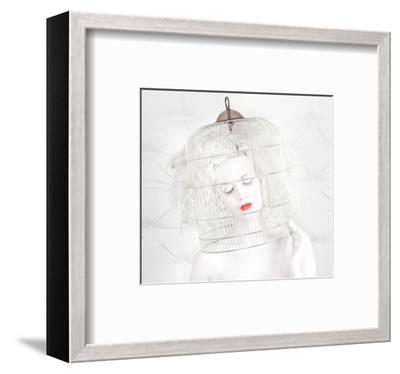 Birdcage Love--Framed Art Print