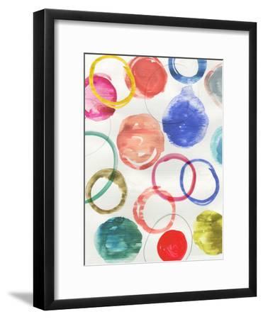 Ringlets Ii-PI Creative Art-Framed Art Print