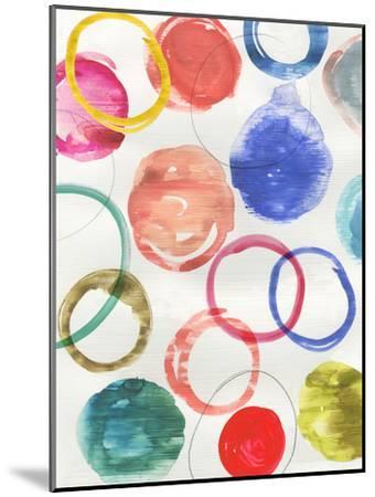 Ringlets Ii-PI Creative Art-Mounted Art Print