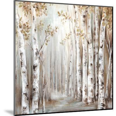 Sunset Birch Forest Iii-PI Creative Art-Mounted Art Print