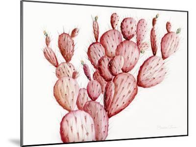Pink Cacti-Shealeen Louise-Mounted Art Print