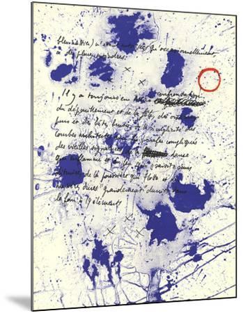 Album 19 Original Lithographs Page 6-Joan Miro-Mounted Premium Edition