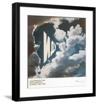 VOY!-Erik Bulatov-Framed Premium Edition