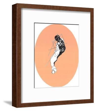 Study on Calamine-Alain Le Yaouanc-Framed Premium Edition