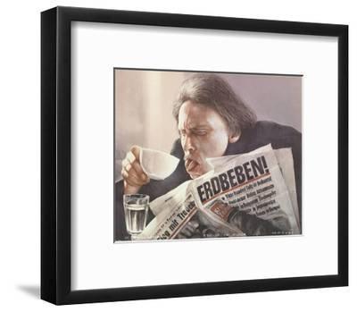 Hamburg-Gottfried Helnwein-Framed Premium Edition