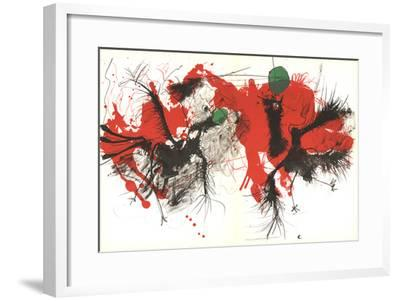 Composition I-177-Paul Rebeyrolle-Framed Premium Edition