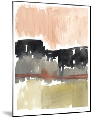 Crimson on the Horizon I-Jennifer Goldberger-Mounted Limited Edition