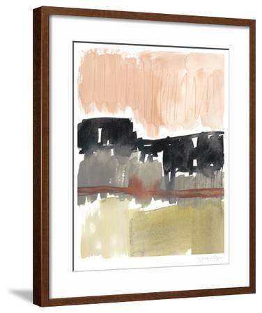 Crimson on the Horizon I-Jennifer Goldberger-Framed Limited Edition