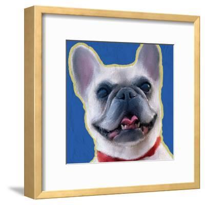 French Bulldog 1-Kimberly Allen-Framed Art Print