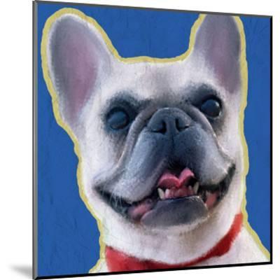 French Bulldog 1-Kimberly Allen-Mounted Art Print