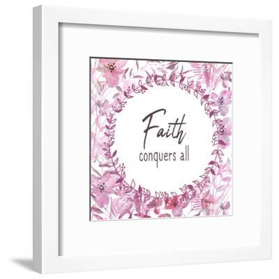 Faith Conquers-Kimberly Allen-Framed Art Print