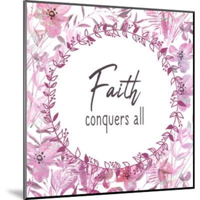 Faith Conquers-Kimberly Allen-Mounted Art Print