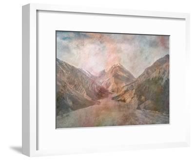 Mountain Range-Sheldon Lewis-Framed Art Print