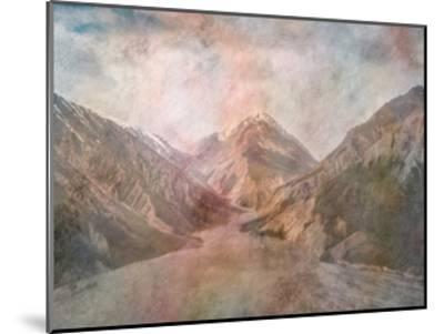 Mountain Range-Sheldon Lewis-Mounted Art Print