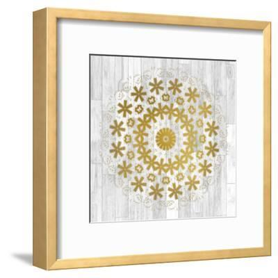 Wood Tile 2-Kimberly Allen-Framed Art Print