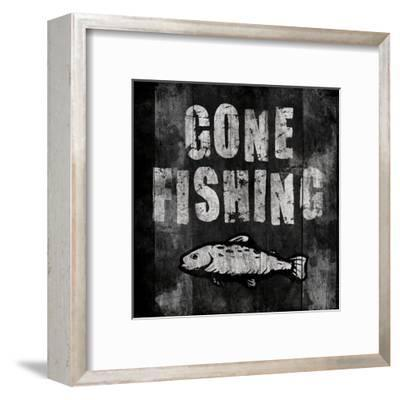 Gone Fishing-Jace Grey-Framed Art Print