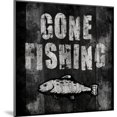Gone Fishing-Jace Grey-Mounted Art Print