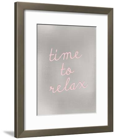 Time to Relax-Kimberly Allen-Framed Art Print