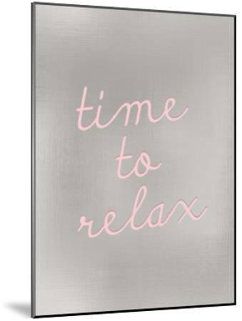 Time to Relax-Kimberly Allen-Mounted Art Print