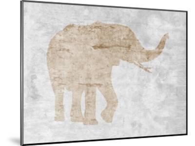 Elephant-Sheldon Lewis-Mounted Art Print