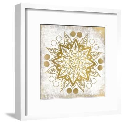 Gold Mandala 3-Kimberly Allen-Framed Art Print