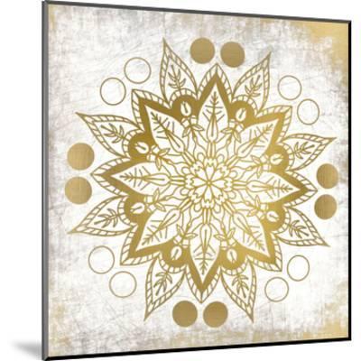 Gold Mandala 3-Kimberly Allen-Mounted Art Print