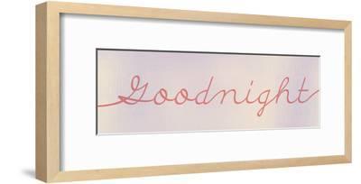 Goodnight-Kimberly Allen-Framed Art Print