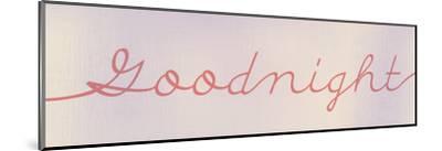 Goodnight-Kimberly Allen-Mounted Art Print