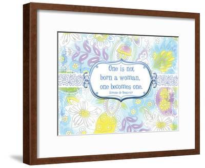 One Becomes One-Elizabeth Jordan-Framed Art Print