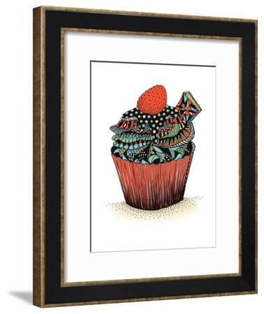 Cupcake-Patricia Pino-Framed Art Print