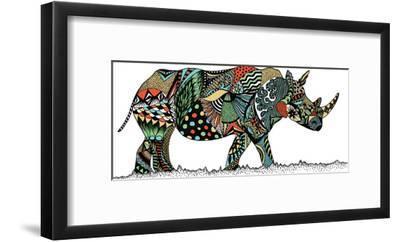 Rhino-Patricia Pino-Framed Art Print