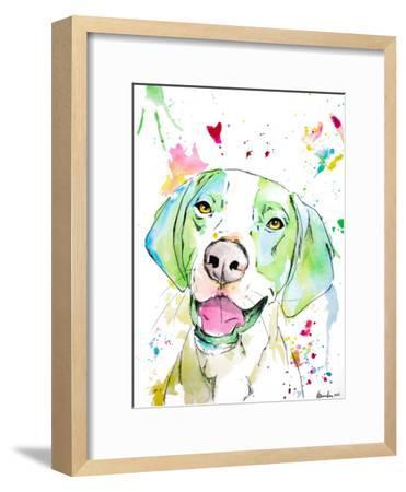 Otto-Allison Gray-Framed Art Print