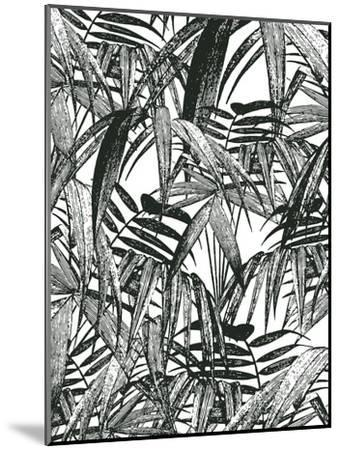Vintage Palm Leaf-Lebens Art-Mounted Art Print