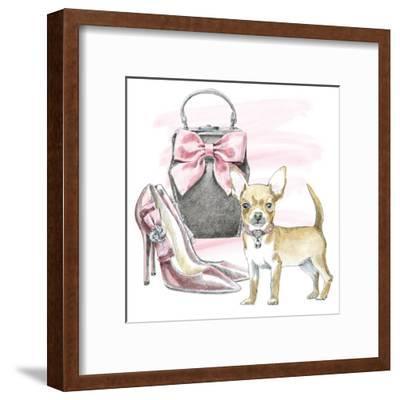 Glamour Pups I-Wild Apple Portfolio-Framed Art Print