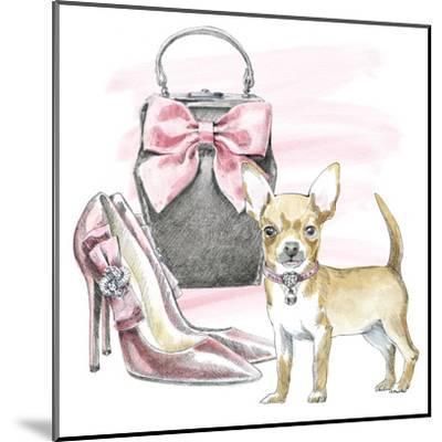 Glamour Pups I-Wild Apple Portfolio-Mounted Art Print