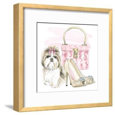 Glamour Pups II-Wild Apple Portfolio-Framed Art Print