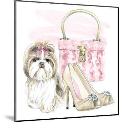 Glamour Pups II-Wild Apple Portfolio-Mounted Art Print