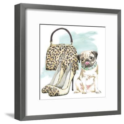 Glamour Pups IV-Wild Apple Portfolio-Framed Art Print