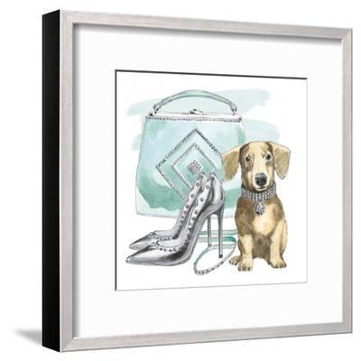 Glamour Pups III-Wild Apple Portfolio-Framed Art Print
