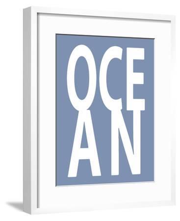 Ocean Blue-Jamie MacDowell-Framed Giclee Print