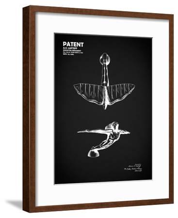 Radiator Ornament 1936 Bk-Mark Rogan-Framed Giclee Print