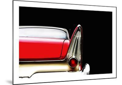 Plymouth Fury Detail-Mark Rogan-Mounted Giclee Print