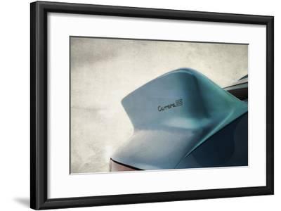 Porsche Carrera RS Tail-Mark Rogan-Framed Giclee Print