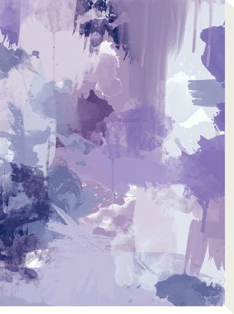 Bomb Pop Purple-Amy Brinkman-Stretched Canvas Print