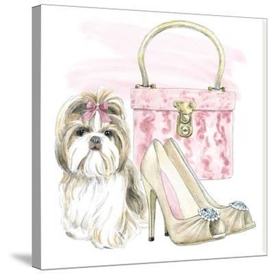 Glamour Pups II-Wild Apple Portfolio-Stretched Canvas Print