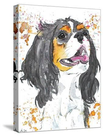 King Charles-Allison Gray-Stretched Canvas Print