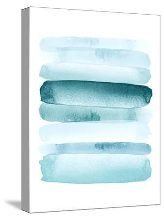 Move Forward Blue-Amy Brinkman-Stretched Canvas Print