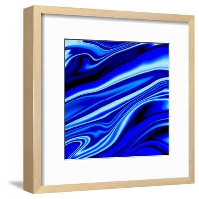Blue Streak-Ashley Camille-Framed Art Print