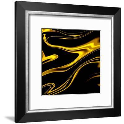 Black Champagne-Ashley Camille-Framed Art Print